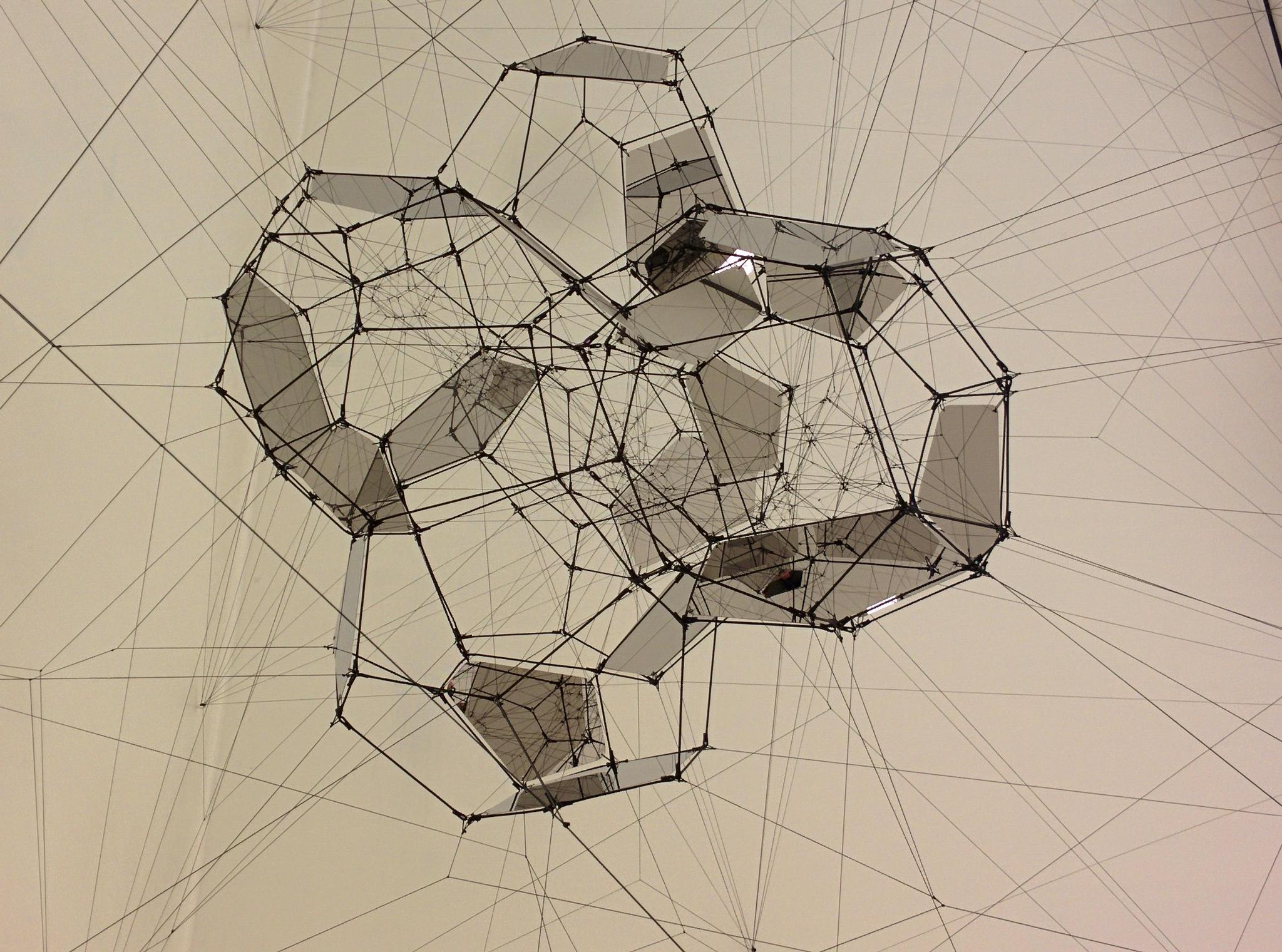 Tomás Saraceno artworks at SF MOMA: Stillness in Motion—Cloud Cities